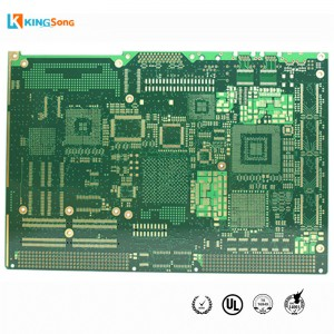 14 Layers kor û Veşartina Suppliers Vias PCB Board Circuit