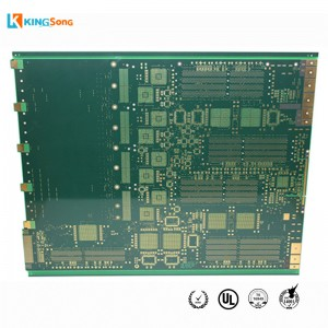 18 Lapisan High Precision Lines Gold Immersion papan litar PCB