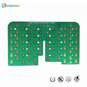 2 Layer Printed Circuit Board ENIG Surface Finishing