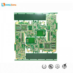 4 Layers High Density PCB Layout Dengan Immersion Emas Pads