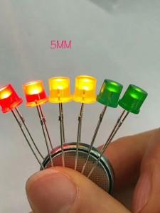 5mm Flattop LED