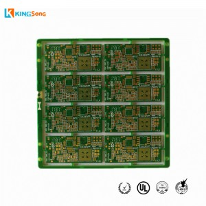 6 Lapisan Dan 2 Tahap High Density PCB DHI