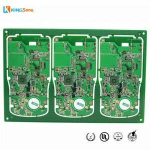 6 Layers impedance Newepel Û herikandinê Gold Çareserkirina Boards Circuit Designing