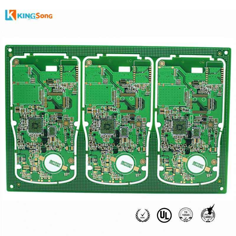 6 Layers Impedance Controls And Immersion Gold Treatment Designing Circuit Boards