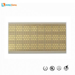AIN Aluminum Nitride Material Ceramic PCB Manufacture Used For LED UV Products