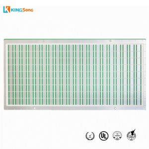 Al2O3 Alumina Material Ceramic PCB Fabrication For LED White Light