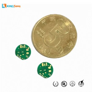 Automobile LED Car Al2O3 Alumina Material Ceramic PCB Fabrication