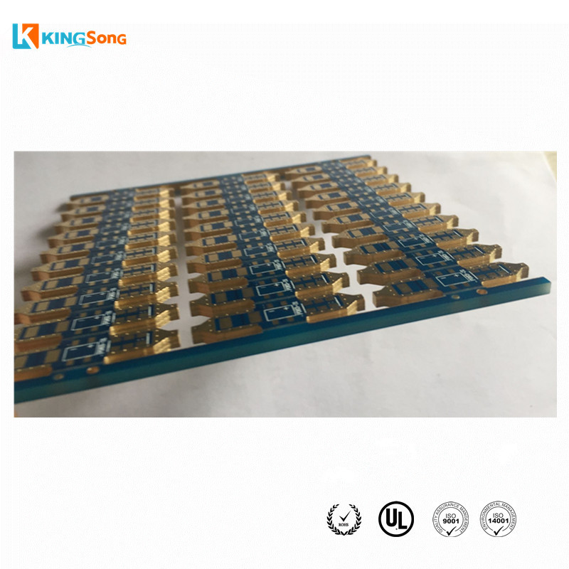 Best LED PCB Manufacturing FR4 2.5mm thickness 2 Layer ENIG Surface Finishing With Edge Plated Used For Auto Lights