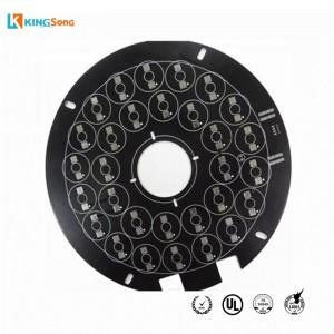 Black Soldermask Aluminum Based PCB Board Manufacturing