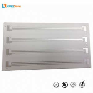 1.0mm Thickness 96% Alumina Ceramic PCB Manufacturing Supplier