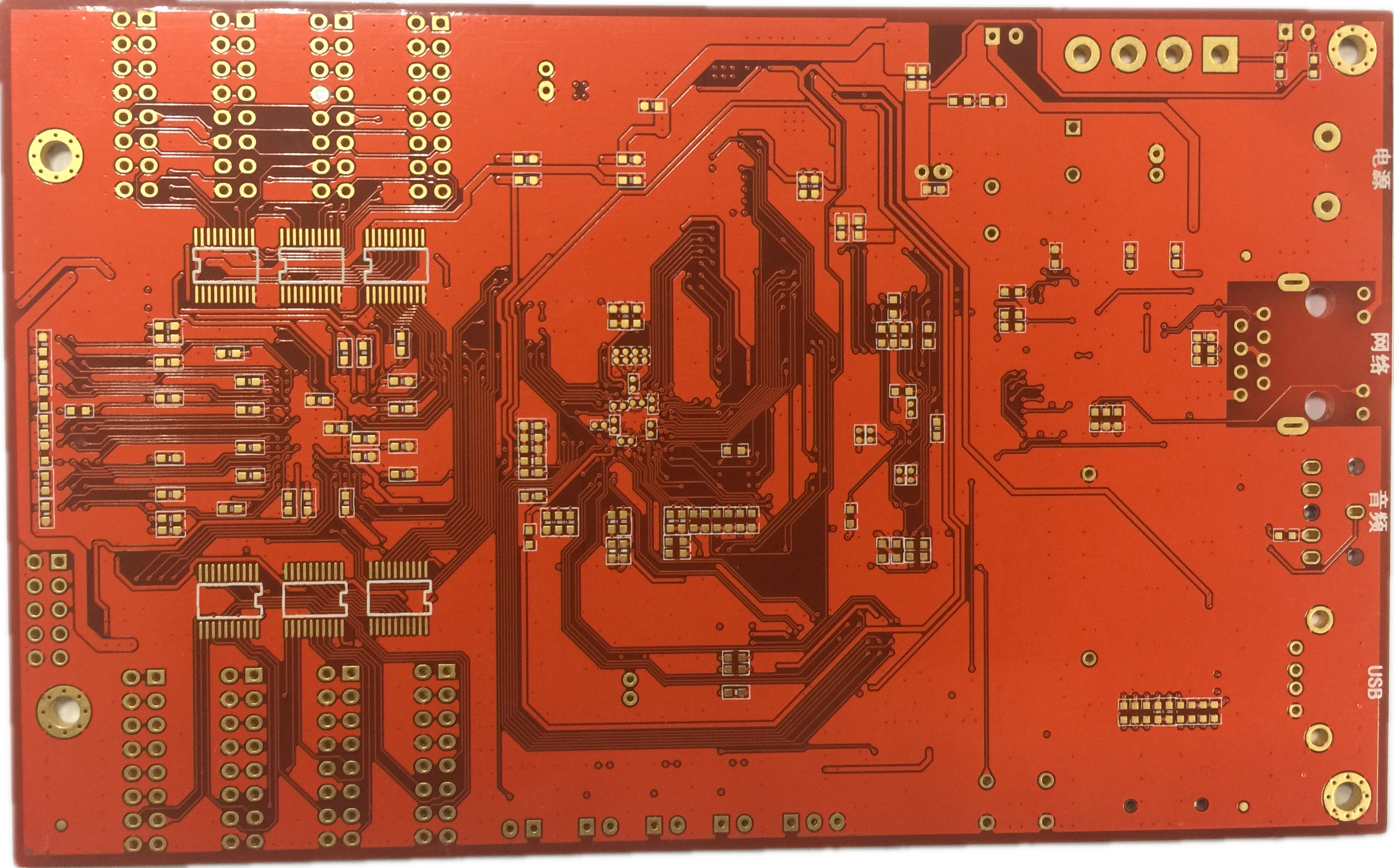Professional Design Gold Metal Detector Circuit Prototype Pcb Printed Board Manufacturer Buried Blind Via For Sale Manufacturing Cheap