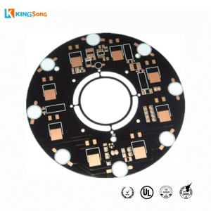 Tuam Tshoj Customized OSP Deg Finish MCPCB Hlau Based PCB Hoobkas