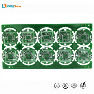 FR4 4 Layers Impedansi Kontrol Dan HASL Surface Finishing PCB Prototipe Fabrikasi