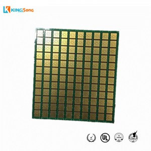 Whole Gold Plate Magnetic Card PCB Board Manufacturing