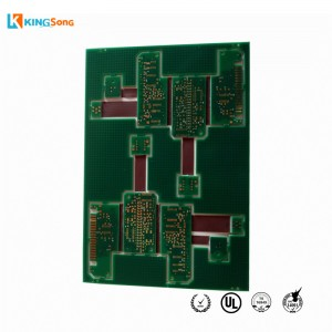 High Quality impedance Controlled Rigid Flex PCB Board