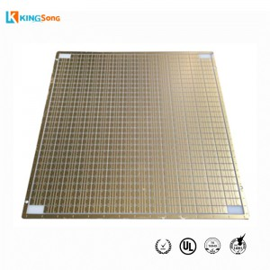 LED Car Headlamp Aluminum Nitride Material Ceramic PCB Board Manufacturing