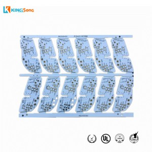 LED PCB For Car Lights With White Solder Mask