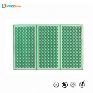 LED White Light 3535 Alumina Material Ceramic PCB Factory