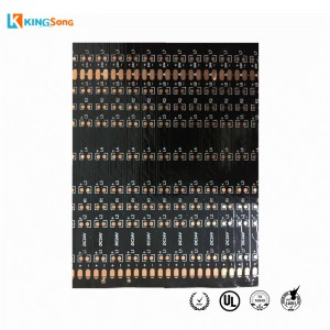 Manufacturing Black LED Light Bar Flexible PCB For Train