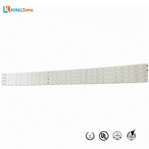 Long Single Layer FR4 Base LED PCB Circuit Board Fabrication