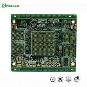 Rapid 10 Layers Impedance Control And Plug Holes Prototyping PCB circuit board