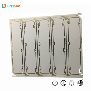 White solder Mask FR4 LED PCB Board Manufacturing